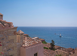 Hotels with exceptional view in Peloponnese